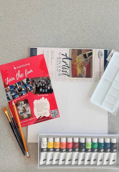 Acrylic Painting Craft Box / Kit