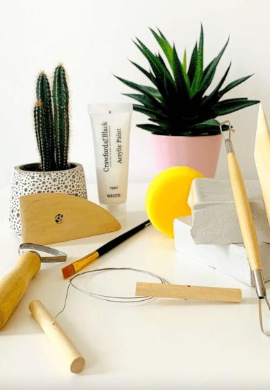 Air-dry Clay Sculpture Craft Box / Kit