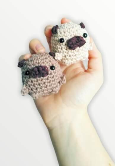 Crochet an Amigurumi Pug