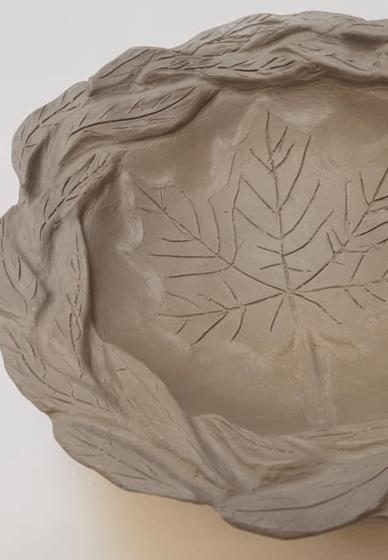 Make a Decorative Clay Dish at Home