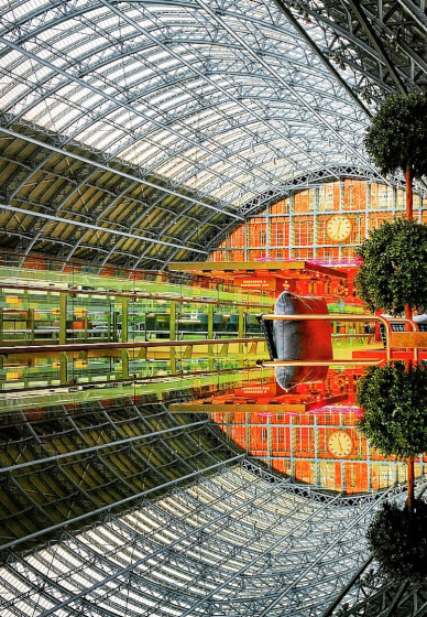 Smartphone Photography at Home: London St Pancras